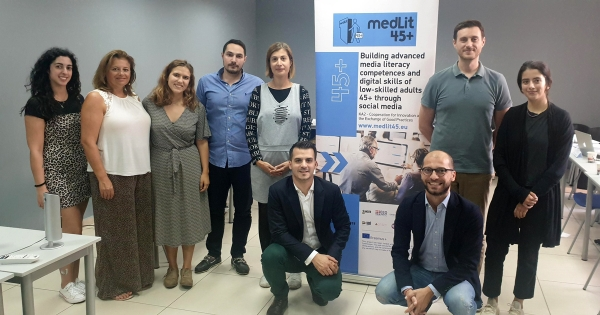 "Final Transnational Project Meeting of the Erasmus+ Project ""MedLit45+"""