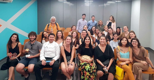 AKMI's School of Tourism has been acknowledged to Saint-Brieuc's students, in the framework of its cooperation with Twinning Committee of Agia Paraskevi Municipality