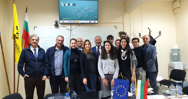 3rd Project Meeting of Erasmus+ Project: NeWPOST in Sofia, Bulgaria