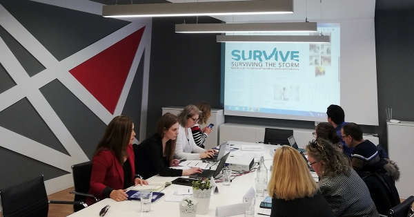 "6th Transnational Project Meeting of the Erasmus + Project ""SURVIVE"""