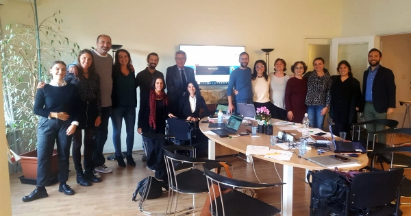 Click Clever: 3rd Transnational Project meeting In Brussels