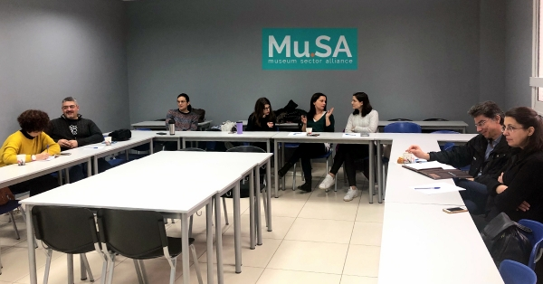 3rd Face-to-Face Training Session of Erasmus+ Project Mu.SA in Athens, Greece