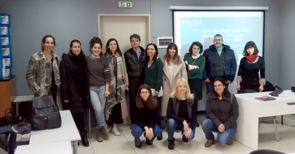 Athens 4th & 5th Face-to-Face Training Session of Erasmus+ Project Mu.SA