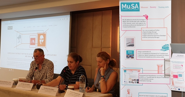 "AKMI S.A. participated in the ""Mu.SA: Training of Museum Professionals to Develop Digital Skills"""
