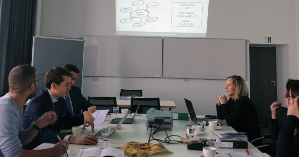EEO Group joined the Kick-Off Meeting of ECI - ENTRECOMP IMPLEMENTATION Project in Cottbus, Germany