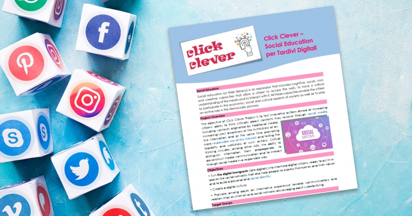 Click Clever – Social Education per Tardivi Digitali - Newsletter [August 2020]